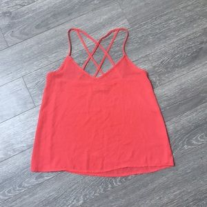 Hollister Coral Tank Top